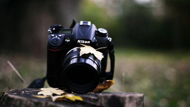 Заставки фотоаппарат, никон, объектив