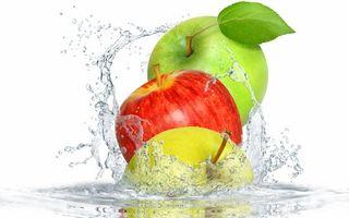 Заставки фрукты, яблоки, сорт