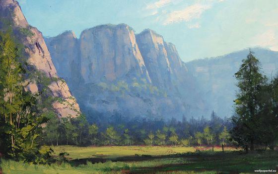 Фото бесплатно небо, вершина, горы
