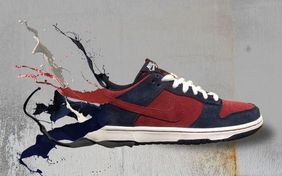 Фото бесплатно найк, обувь, кроссовок