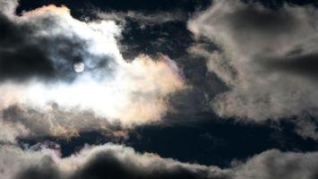 Бесплатные фото небо,облака,тучи,солнце,темно,проблеск,природа