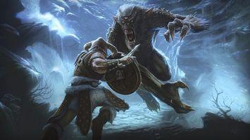 Фото бесплатно обои, warrior, battle