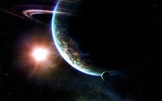 Бесплатные фото планеты,кольца,земля,спутник,солнце,звезда,космос