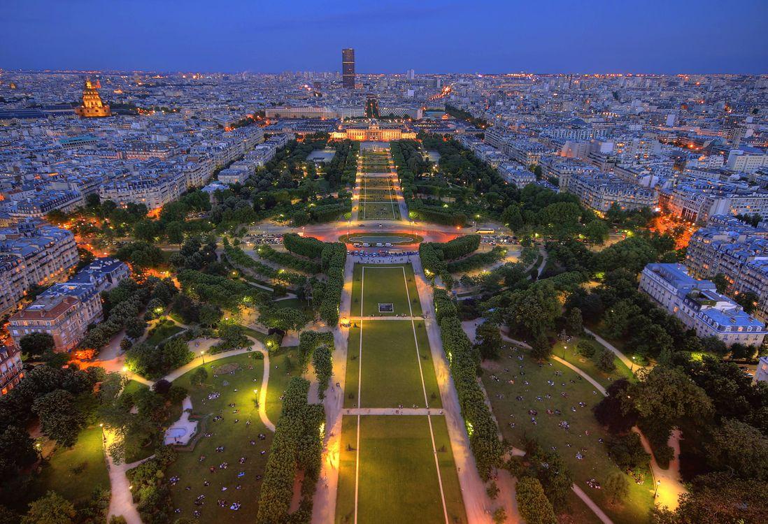 Скачать красивую заставку о париж, франция