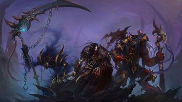 Фото бесплатно world of warcraft, монстры, игры