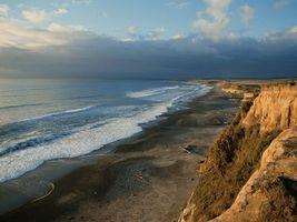Заставки берег, океан, песок