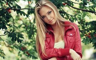 Фото бесплатно девушка, блондинка, красавица