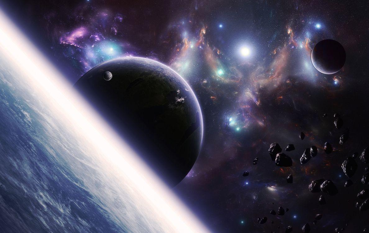 Фото бесплатно космос, вселенная, планеты - на рабочий стол