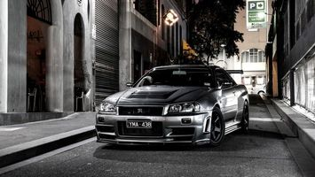 Photo free Nissan, Skyline, p34