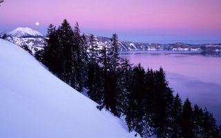 Бесплатные фото снег,зима,мороз,холод,горы,деревья,лес