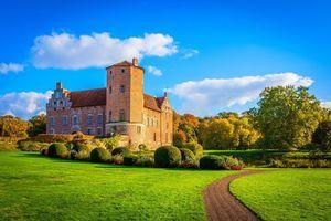 Бесплатные фото Torup Castle,Sweden,Замок Торуп,Свидала,Сконе,Швеция