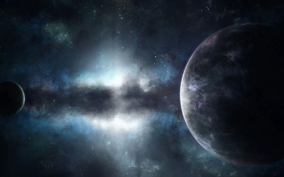 Фото бесплатно туманность, галактика, звезды, скопления, ночь, газ, планеты, кольца, круг, поверхность, спутник, космос, космос