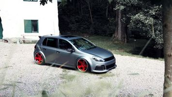 Photo free volkswagen, golf, silver