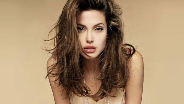 Photo free angelina jolie, hair, curly