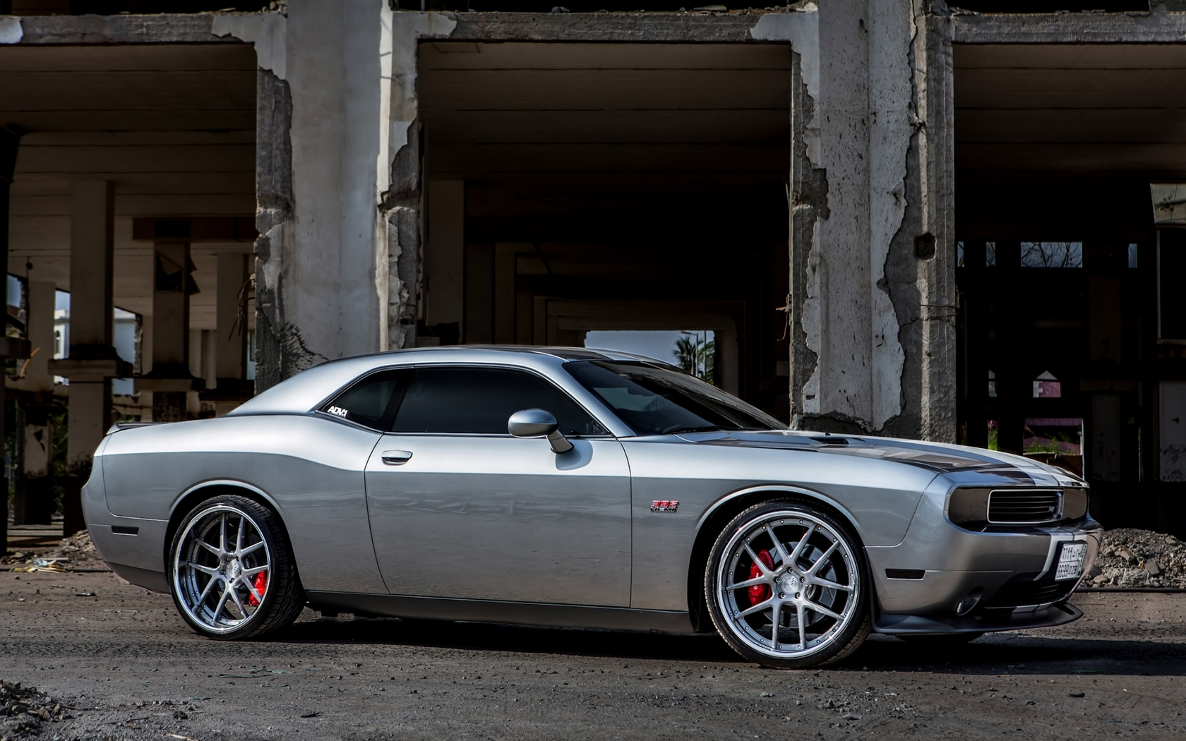 Обои dodge, challenger, 2008, widebody