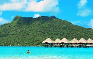 Бесплатно тропики, море, бунгало - фото новые