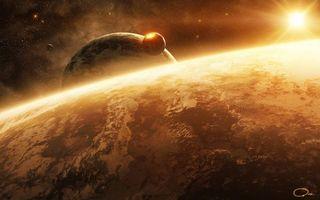 Бесплатные фото земля,планета,звезды,туманность,галактика,луна,солнце