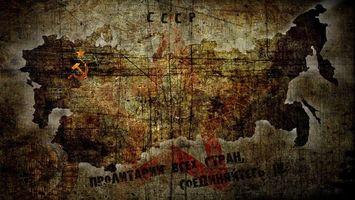 Бесплатные фото советский союз,ссср,серп и молот,карта