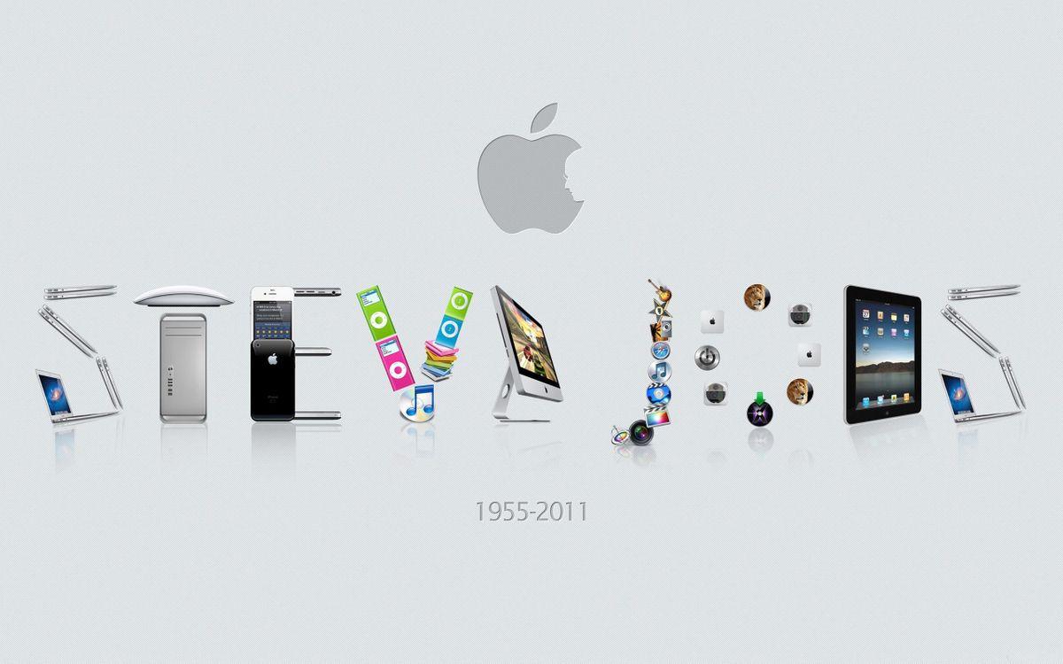 Фото бесплатно обои, стив джобс, apple, 1955-2011 год, разное