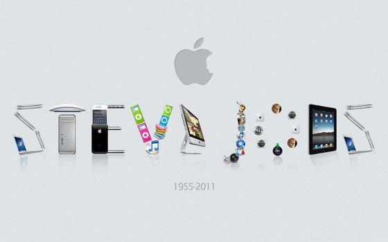 Photo free wallpaper, Steve Jobs, apple