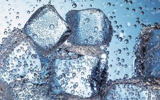 Фото бесплатно макро, пузыри, газировка, лед, лёд, пузырьки, вода