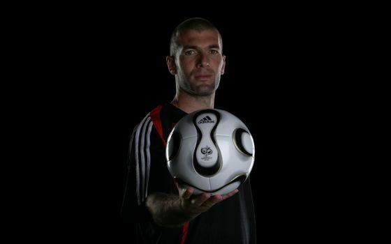 Фото бесплатно футбол, спорт, зидан