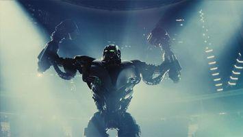 Фото бесплатно живая сталь, фильм, роботы