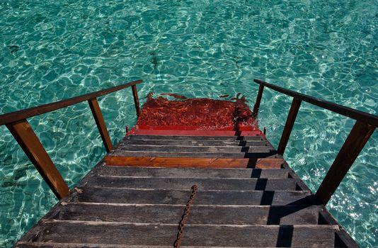 Фото бесплатно лестница, ступеньки, спуск