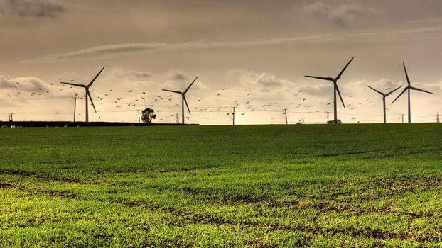 Photo free wind, power, field