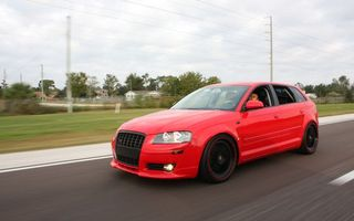 Photo free audi a3, red, hatchback