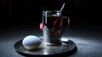 Бесплатные фото чай,стакан,подставка,поднос,яйцо,куриное,напитки