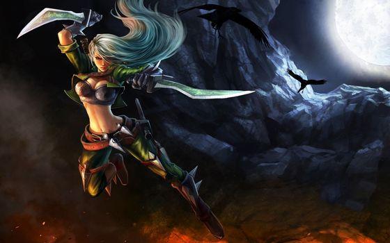 Photo free dagger, female, warrior