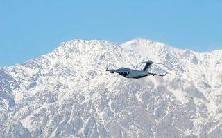 Фото бесплатно горы, скалы, полет