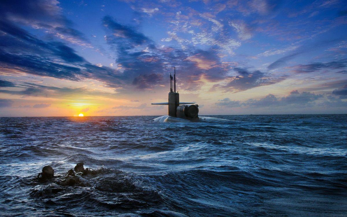 Фото бесплатно лодка, подводная, судно - на рабочий стол
