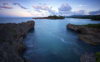 Бесплатные фото море,океан,вода,волны,трава,камни,деревья