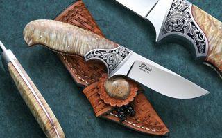 Заставки нож, ручка, гравировка, ручная, работа, сталь, железо, острый, кобура, чехол, стол, оружие