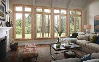 Фото бесплатно окна, стол, диван