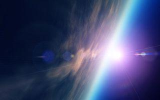 Бесплатные фото планета,земля,солнце,лучи,невесомость,орбита,космос