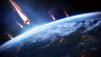 Бесплатные фото планета, звезды, спутник, туманность, галактика, свет, камни
