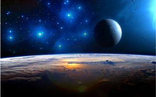 Фото бесплатно планеты, новые миры, спутник