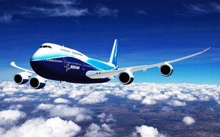 Заставки самолет, ботинг, boeng, пилот, небо, облака, высота, планета, город, вил, панорама, крылья