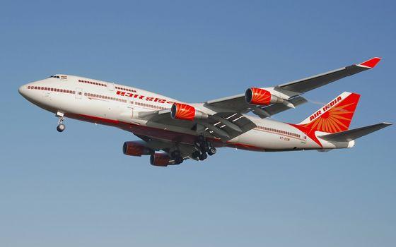 Фото бесплатно самолет, пассажирский, хвост