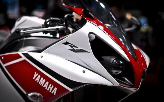 Photo free Yamaha p1, bike, headlights