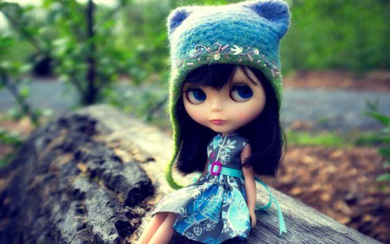 Заставки шапка, платье, глаза
