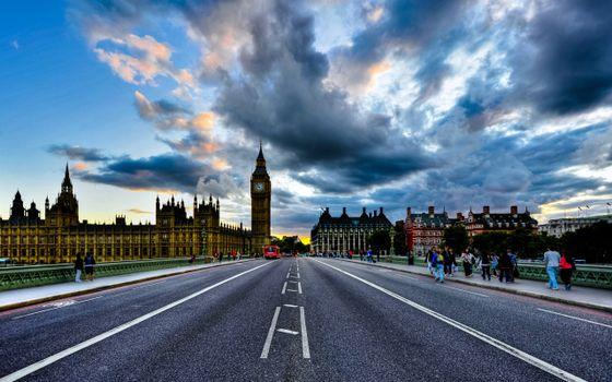 Photo free uk, england, clouds