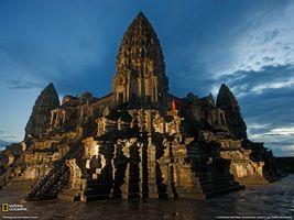 Фото бесплатно храм, небо, лестница