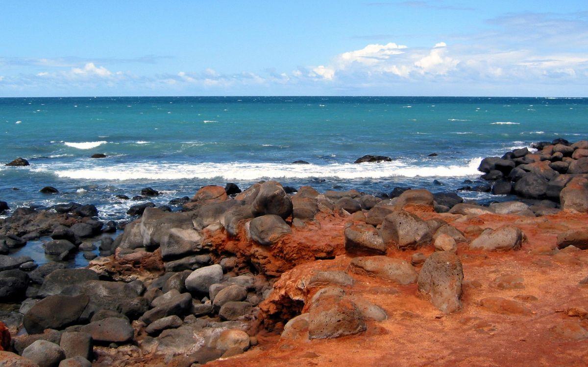 Фото бесплатно берег, камни, песок - на рабочий стол