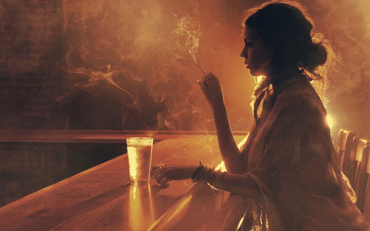 Фото бесплатно девушка, бар, барная - на рабочий стол