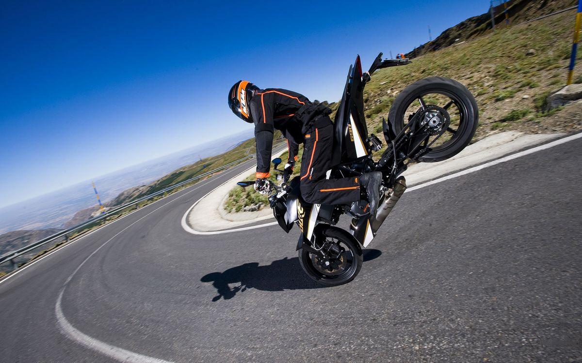 Фото бесплатно дорога, мотоциклист, шлем - на рабочий стол