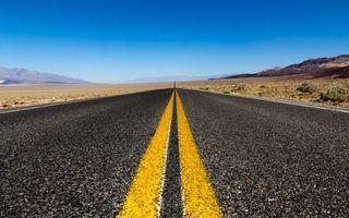 Фото бесплатно дорога, асфальт, полосы